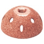 "2"" Dome Economy Buffing Wheel, 60 grit"